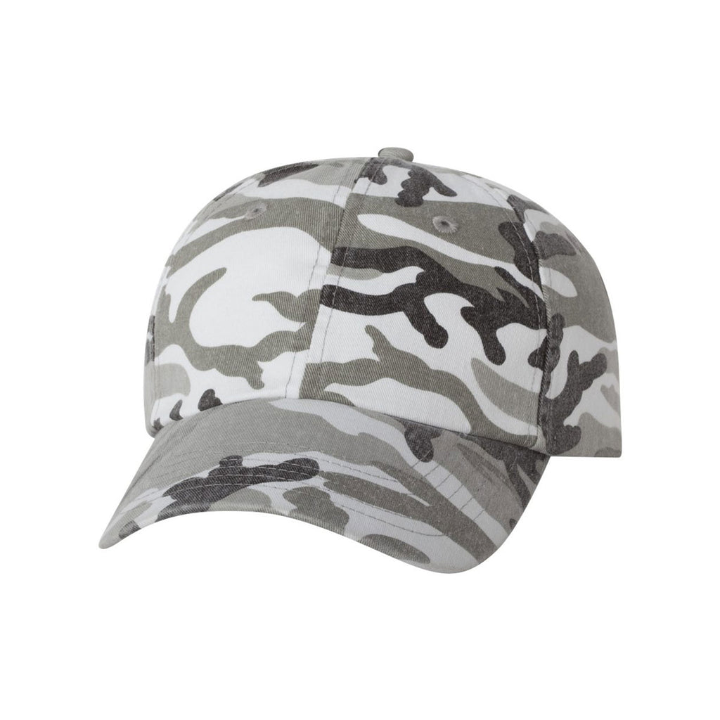 b5554679f5e Valucap Grey Camo Classic Dad s Cap. ADD YOUR LOGO