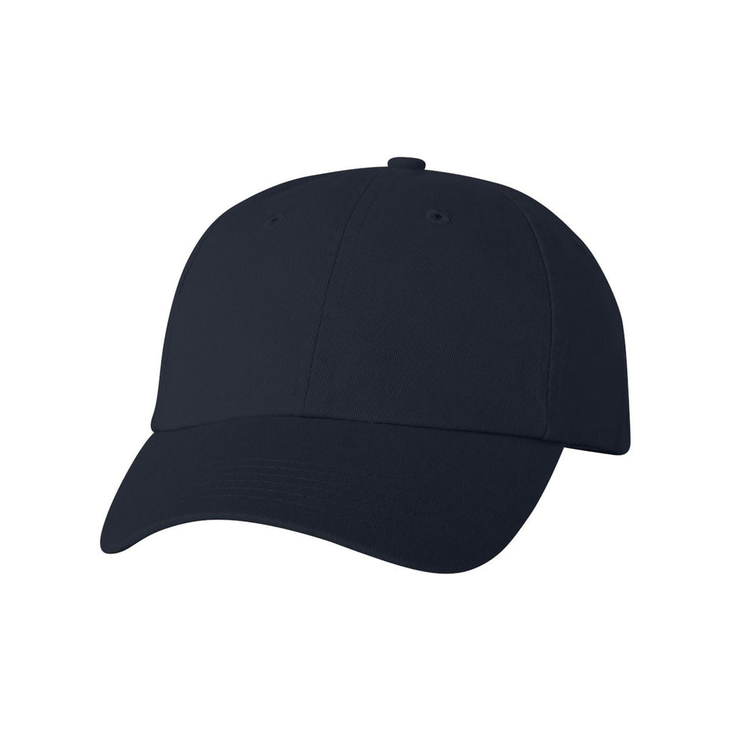 cbe6d1398ab Valucap Navy Classic Dad s Cap. ADD YOUR LOGO