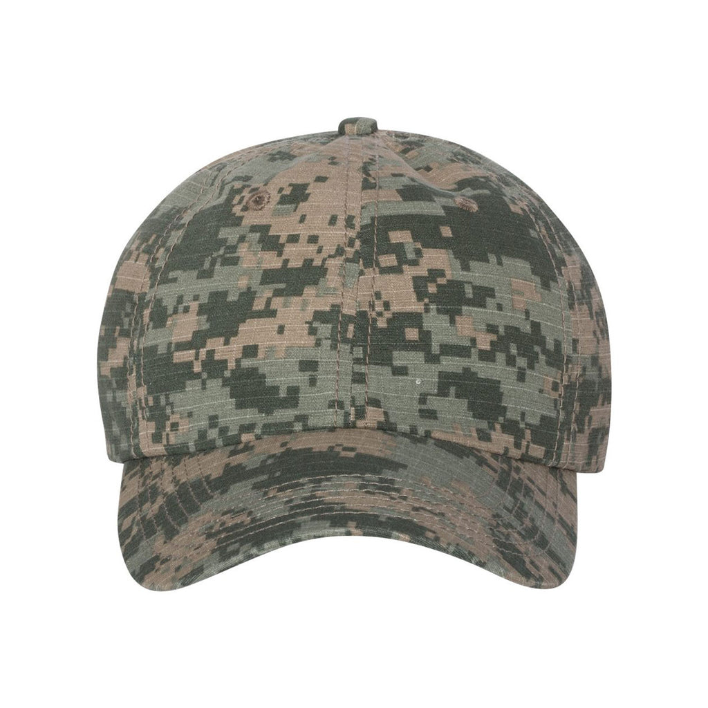 3afa9c7b5e6 Valucap Olive Digital Camo Classic Dad s Cap. ADD YOUR LOGO