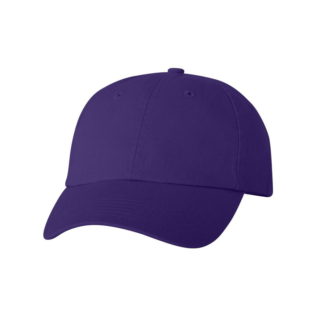 9f7be640fbb Valucap Purple Classic Dad s Cap. ADD YOUR LOGO