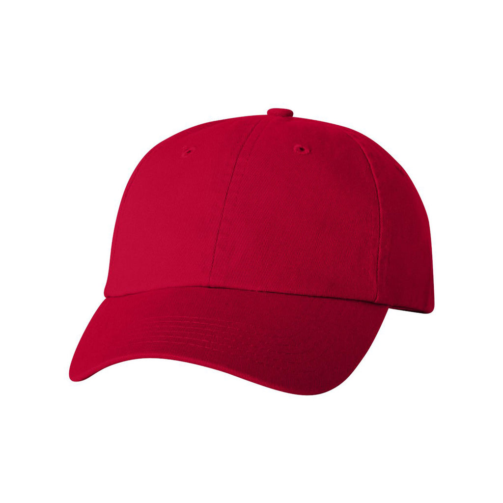 c8b74ef338e Valucap Red Classic Dad s Cap. ADD YOUR LOGO
