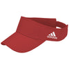 adidas-red-adjustable-visor