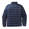 Patagonia Men's Navy Blue/Underwater Blue Down Sweater