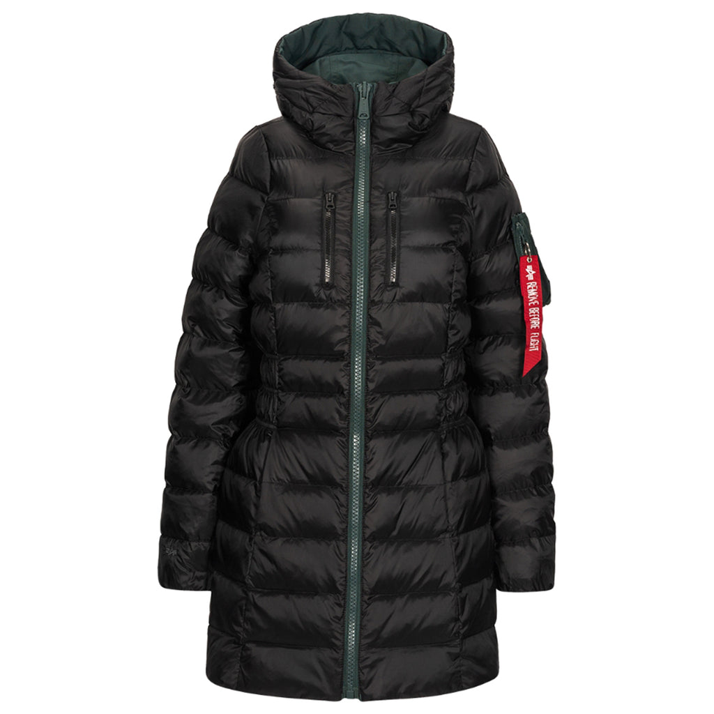 Alpha Industries Women's Patrol Green N-3B Reversable Down Parka