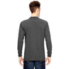 Dickies Men's Charcoal 6.75 oz. Heavyweight Work Long-Sleeve Tall Work T-Shirt
