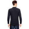 Dickies Men's Dark Navy 6.75 oz. Heavyweight Work Long-Sleeve Tall Work T-Shirt