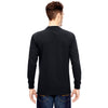Dickies Men's Black 6.75 oz. Heavyweight Work Long-Sleeve T-Shirt