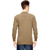 Dickies Men's Desert Sand 6.75 oz. Heavyweight Work Long-Sleeve T-Shirt