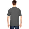 Dickies Men's Charcoal Heavyweight Work Henley
