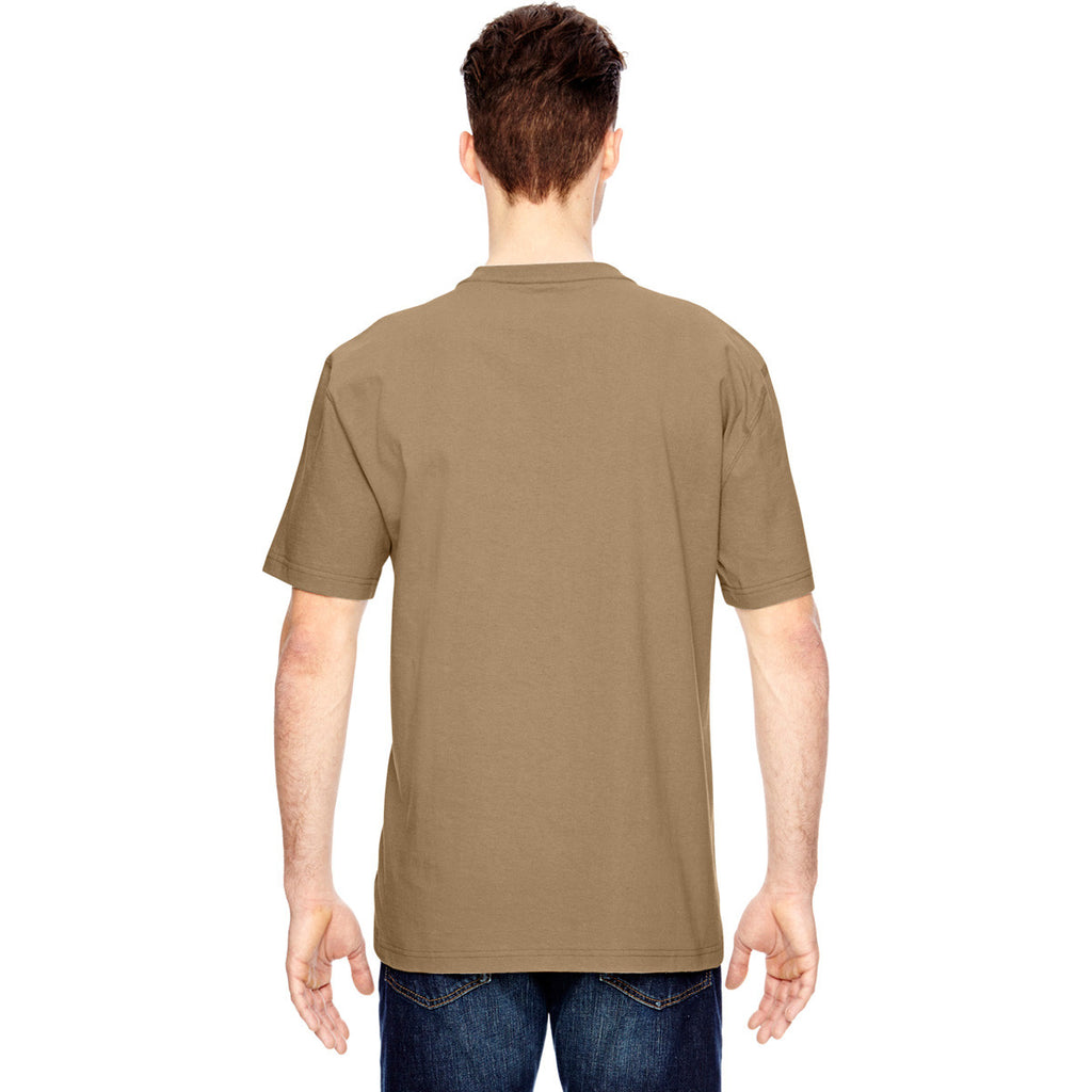 Dickies Men's Desert Sand Heavyweight Work Henley