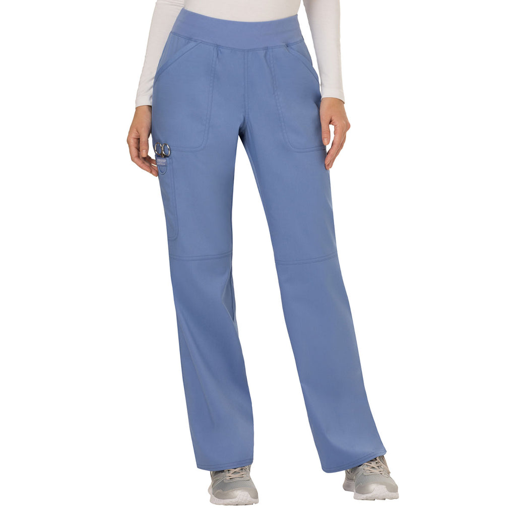 0a152a28a97 Cherokee Women's Ciel Workwear Revolution Mid Rise Pull-on Cargo ...