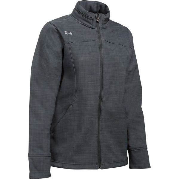 Under Armour Women S Grey Barrage Soft Shell Jacket