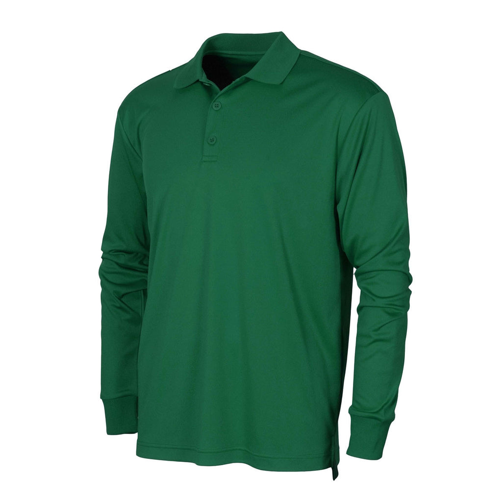 7794c43e3 BAW Men's Kelly Xtreme Tek Long Sleeve Polo