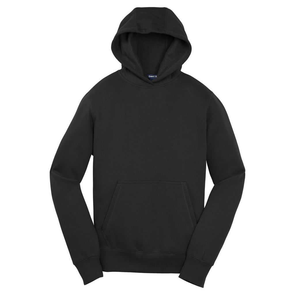 Sport Tek Youth Black Pullover Hooded Sweatshirt Allsaints talon oversized hoodie with embroidered logo back in grey. merchology