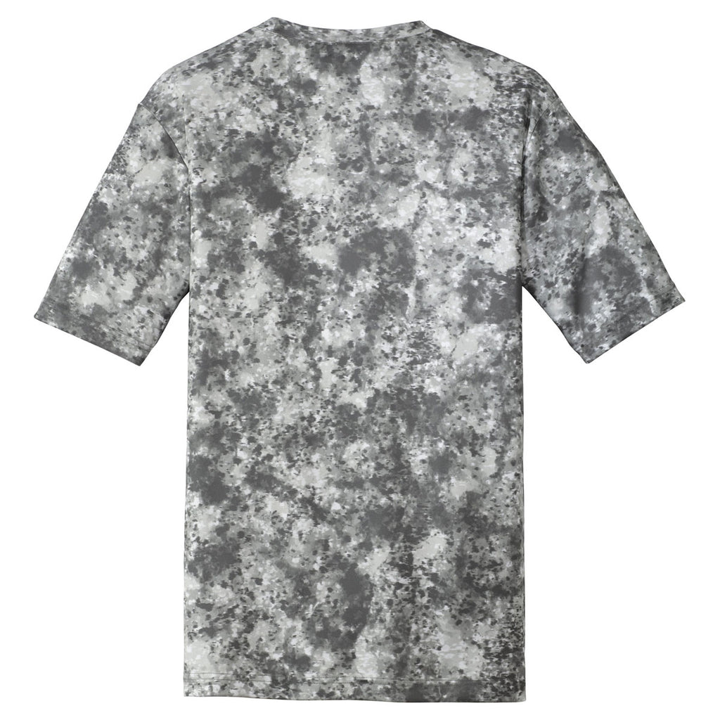 Sport-Tek Youth Dark Smoke Grey Mineral Freeze Tee