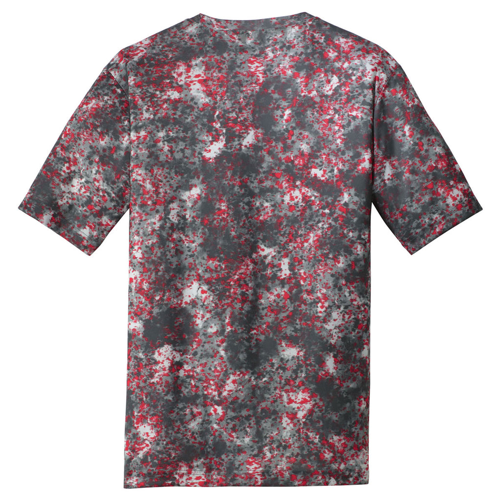 Sport-Tek Youth Deep Red Mineral Freeze Tee
