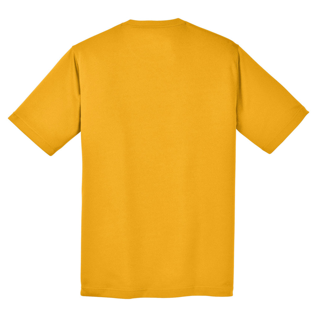 Sport-Tek Youth Gold PosiCharge RacerMesh Tee