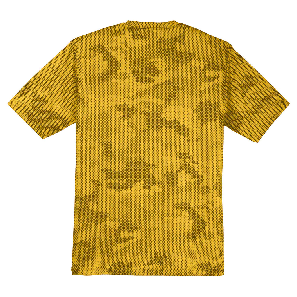 Sport-Tek Youth Gold CamoHex Tee