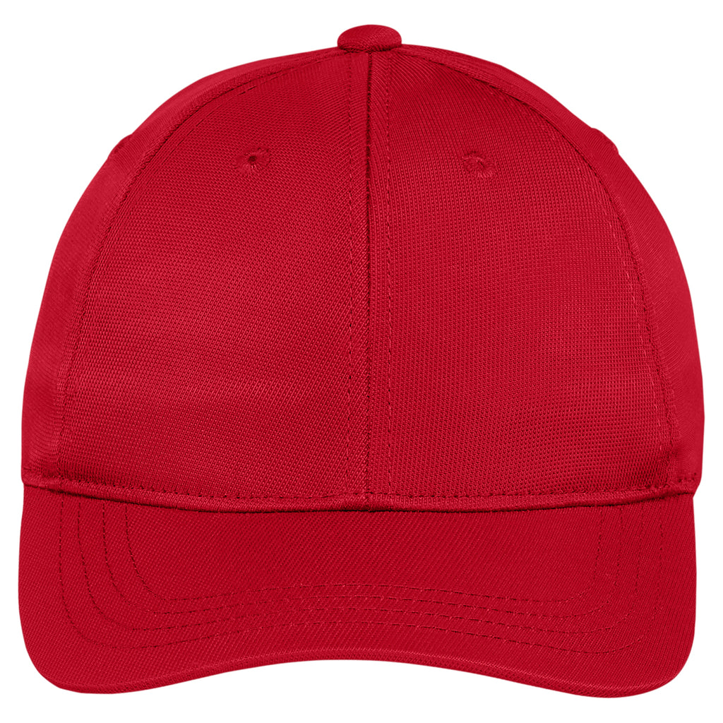 Sport-Tek Youth True Red Dry Zone Nylon Cap