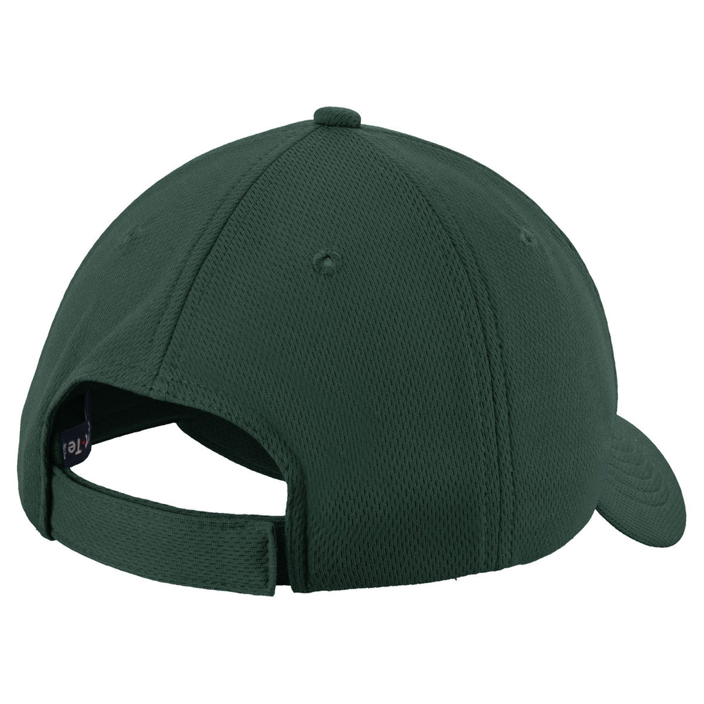 Sport-Tek Youth Dark Forest Green PosiCharge RacerMesh Cap