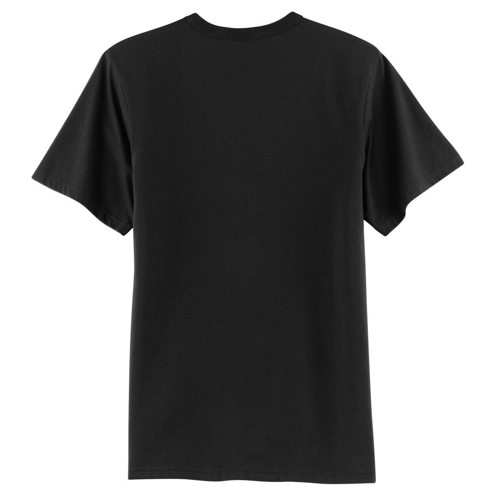 Sport-Tek Youth Black Short Sleeve Henley