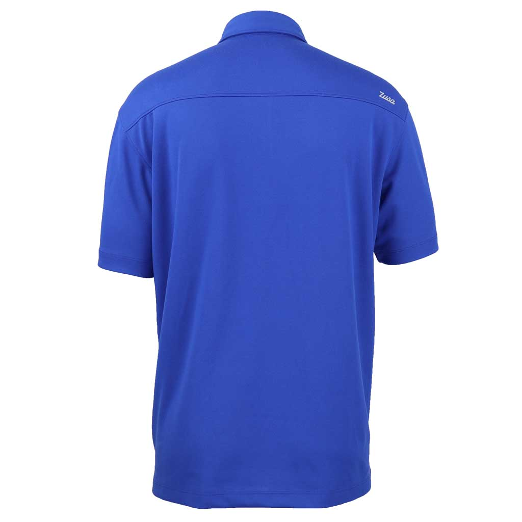 Zusa 3 Day Men's Royal Everyday Pique Polo