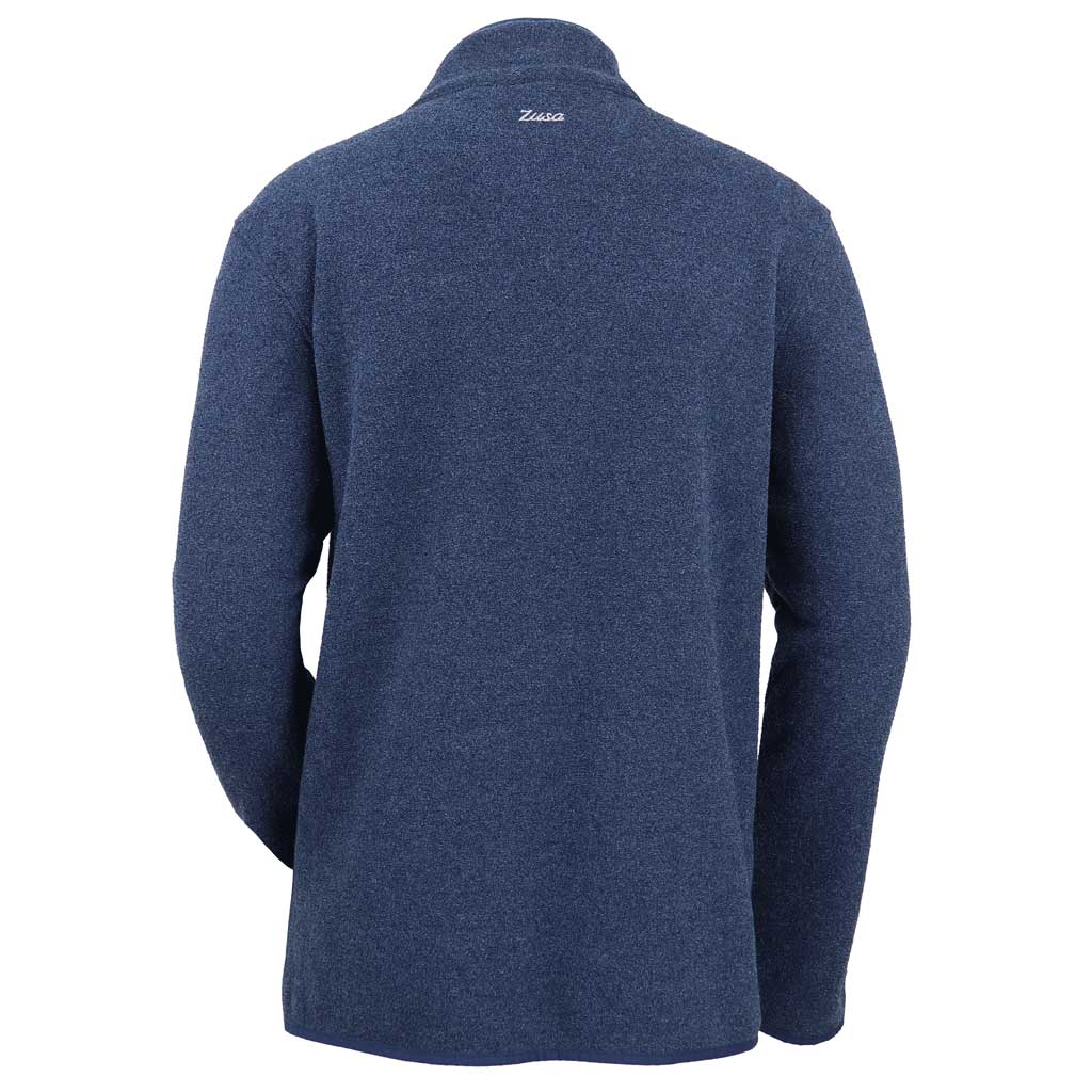 Zusa 4 Day Men's Navy Chilly Fleece Quarter Zip