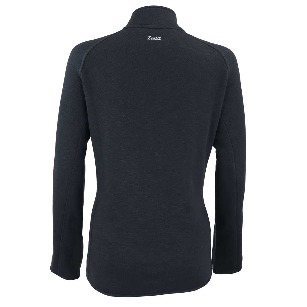 Zusa 3 Day Women's Black Midtown Fleece Full Zip