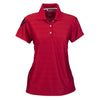 adidas-womens-red-mesh-polo