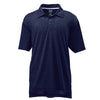 adidas-navy-heather-polo