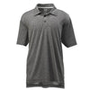 adidas-black-heather-polo