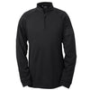 adidas-black-quarter-zip