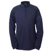 adidas-navy-quarter-zip
