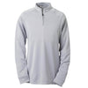 adidas-light-grey-quarter-zip