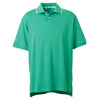 adidas-light-green-jersey-polo