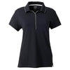 adidas-womens-black-jersey-polo