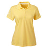 adidas-womens-yellow-jersey-polo