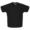 cherokee-black-v-neck-pockets