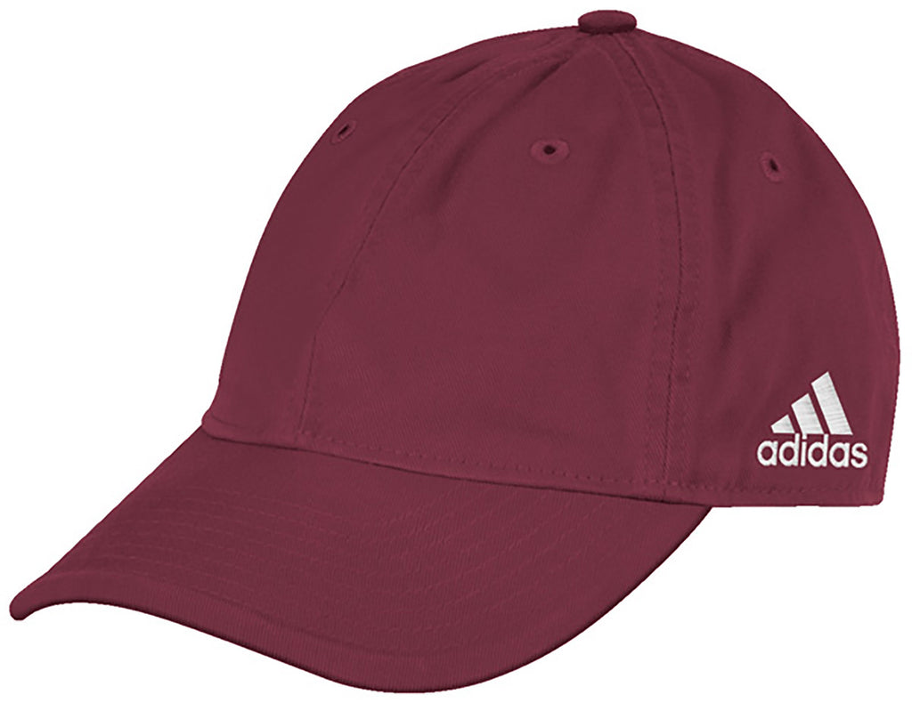 adidas Maroon Adjustable Washed Slouch Cap 1d92b8a17