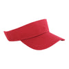 ahead-red-vintage-golf-visor