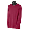 champion-burgundy-tee-performance