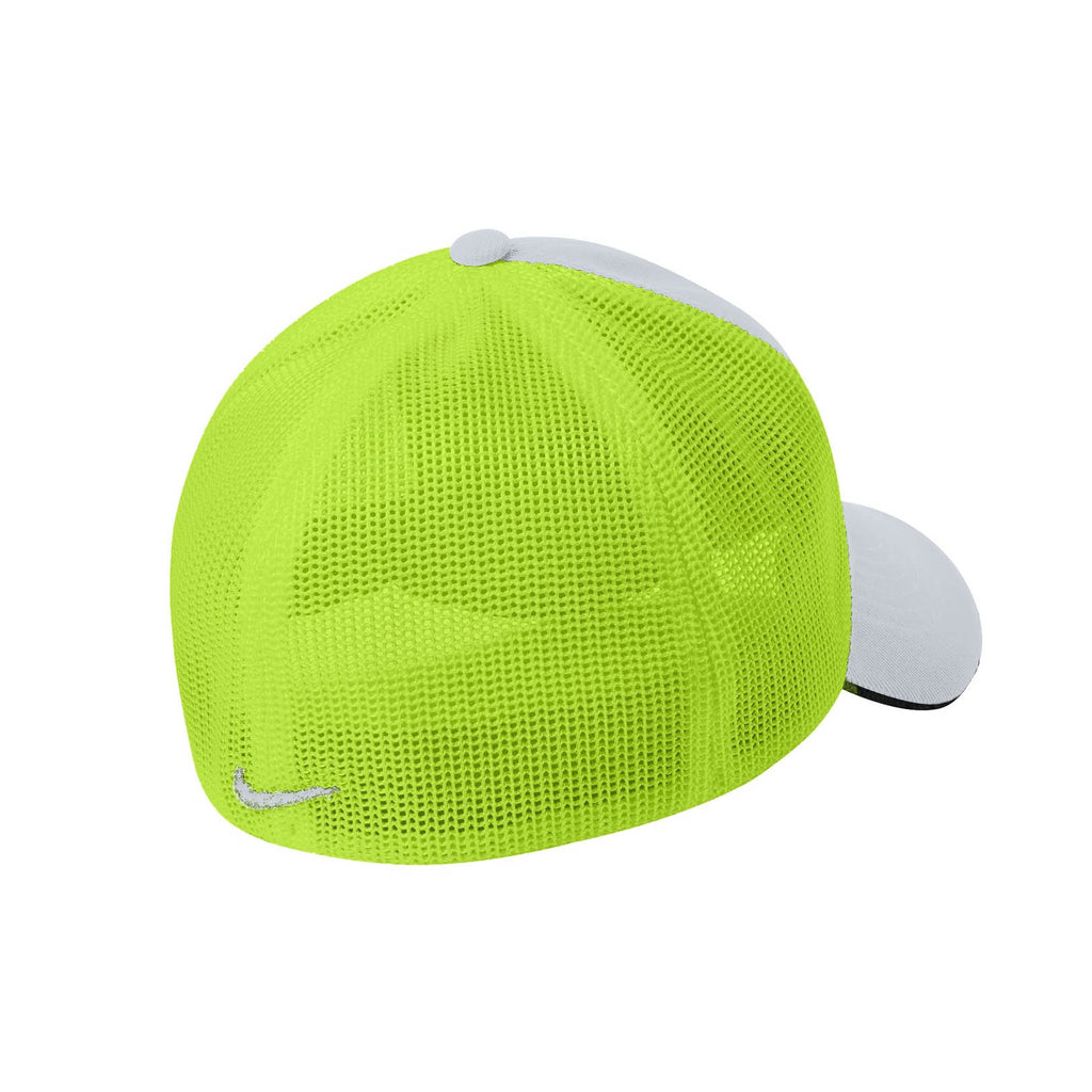 Nike Light Grey/Bright Green Mesh Back Cap