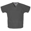 cherokee-grey-v-neck-pockets