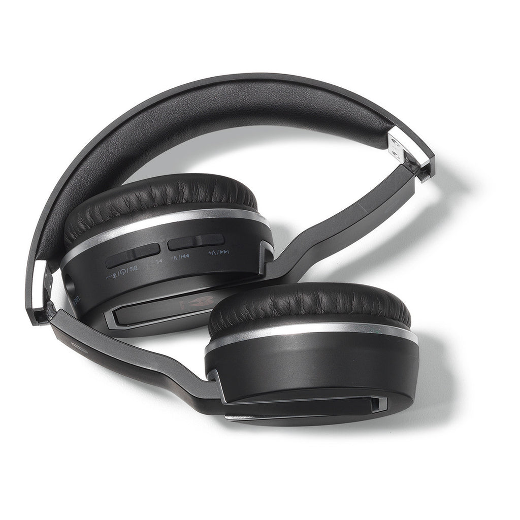 Brookstone Black Sonic Bluetooth Headphones