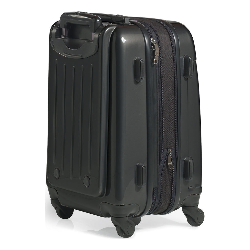 "Brookstone Black Dash II 20"" Upright Wheeled Luggage"