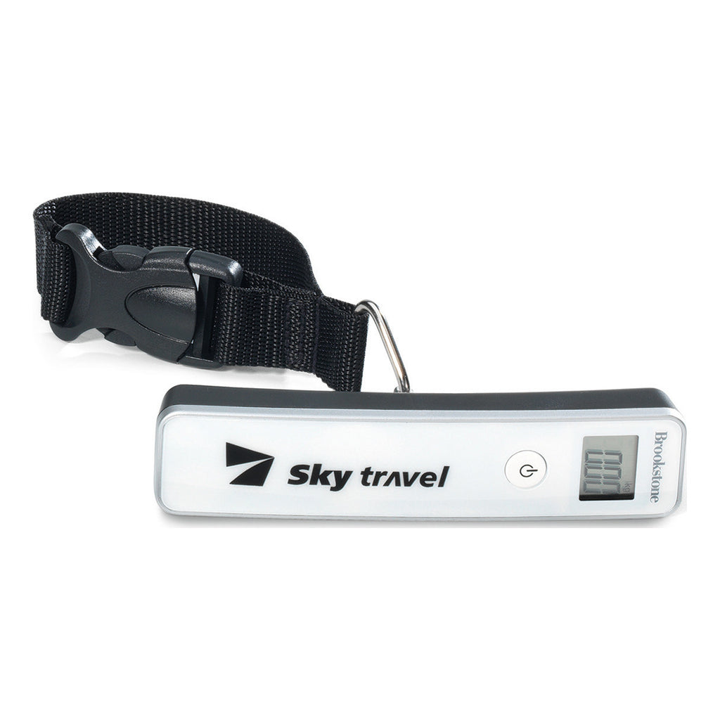 Brookstone White Digital Luggage Scale