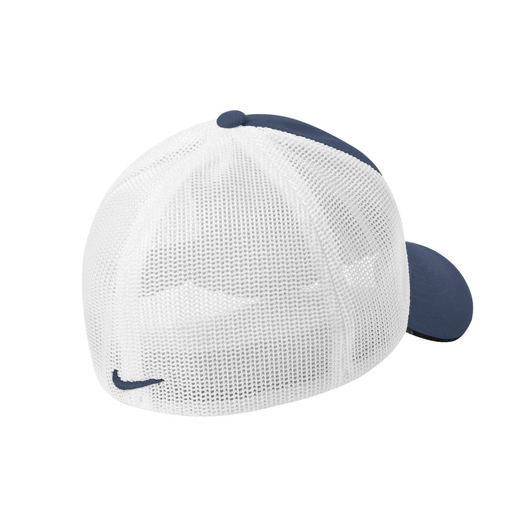 Nike Navy/White Mesh Back Cap