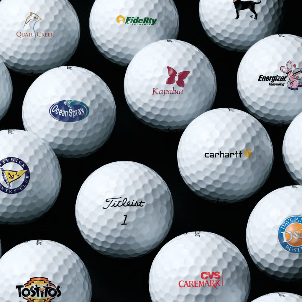 Titleist DT Solo Golf Balls with Custom Logo