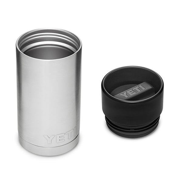 YETI Stainless Rambler 12 oz Bottle with Hotshot Cap