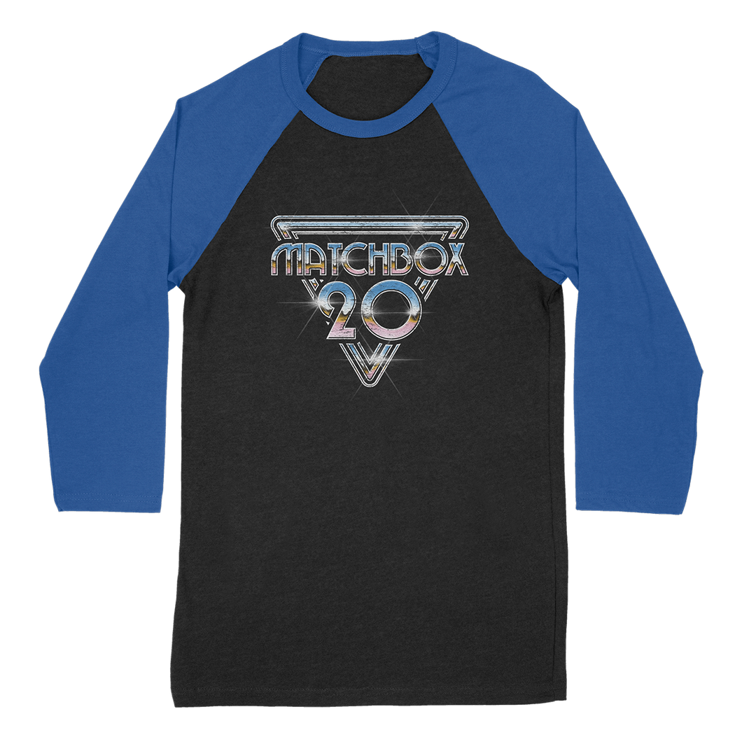 Chrome Emblem Raglan (Blue)